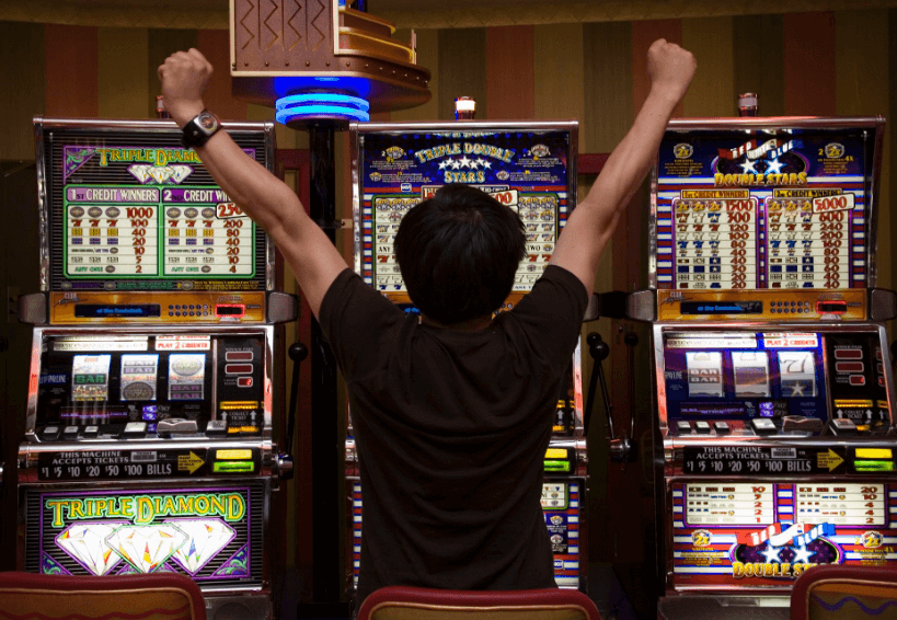 winning the slot machine