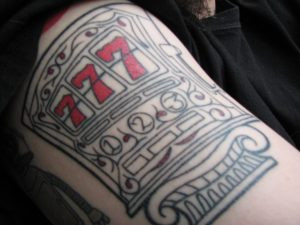 tattoo slot machine 777